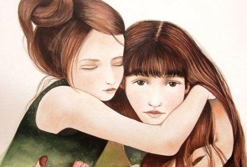 Сестра - це більше, ніж просто подруга, вона - частинка нашого серця