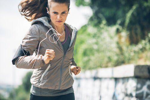 вправи та біг