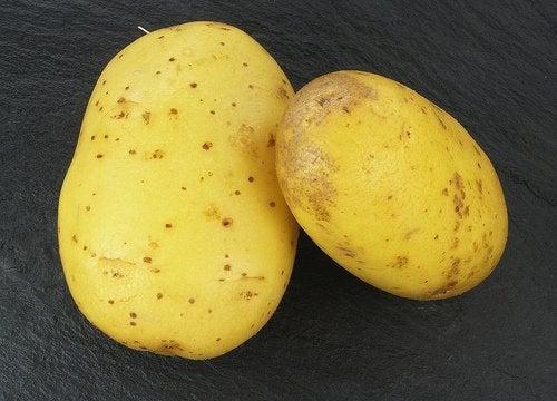 картопля від розтяжок