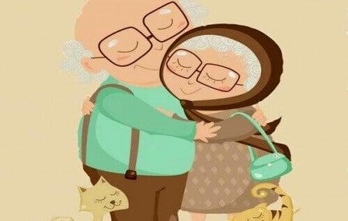Справжнє кохання не зважає на роки, зморшки та час