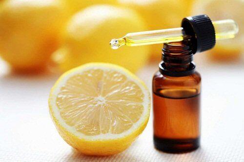 лемонні ефірні масла