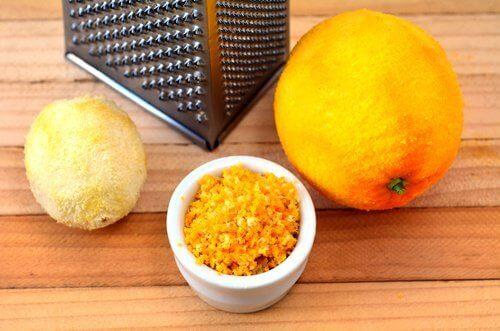 перетертий заморожений лимон