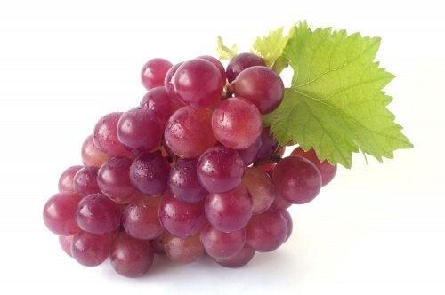 виноград виводить токсини
