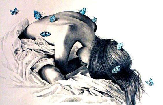 дівчина з метеликами