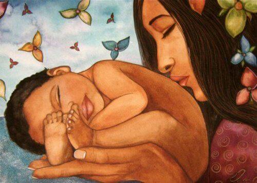 Мати і немовля