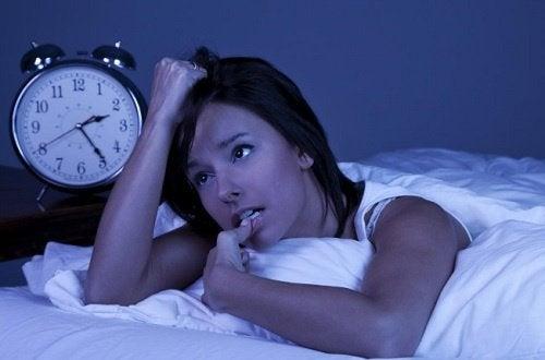 Безсоння через різні тривоги