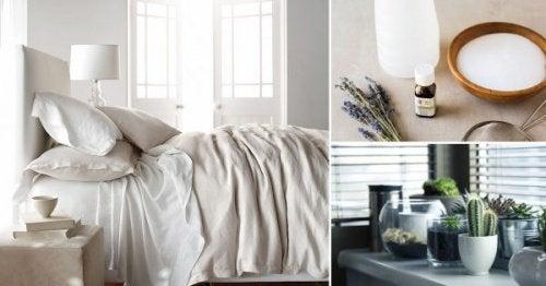 8 секретів для дезінфекції спальні