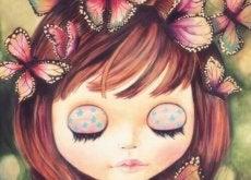 дитя і метелики
