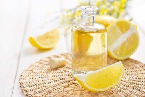 лимон для прибирання