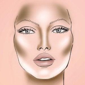 макіяж для обличчя