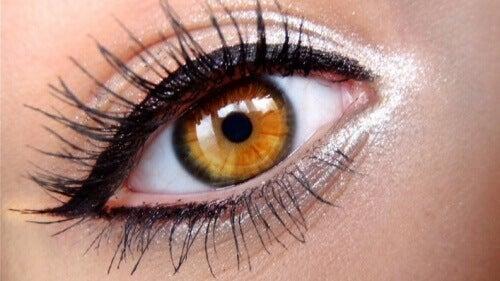 жіноче око