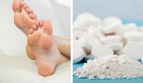 Використовуйте аспірин для видалення мозолів