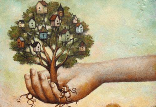 будинки на дереві