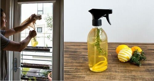 Освіжувач повітря з лимонних шкірок