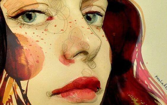 малюнок жінки