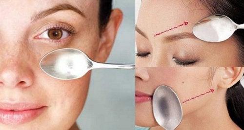 Неймовірний масаж обличчя ложкою