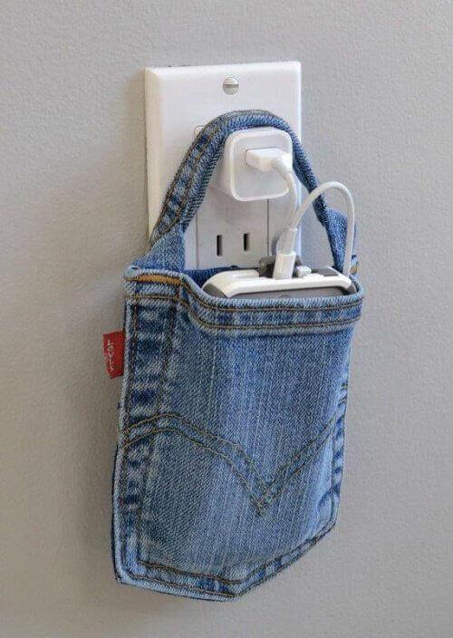 мішечок для зарядки мобільного телефону
