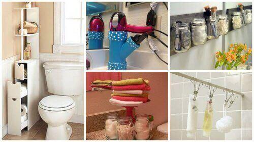 19 порад, як зберегти простір у ванній кімнаті