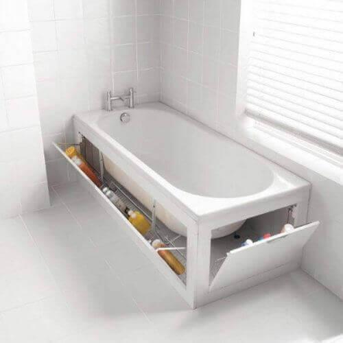 прихована шафа у ванній