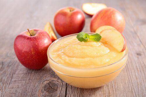 Користь від яблучного пюре