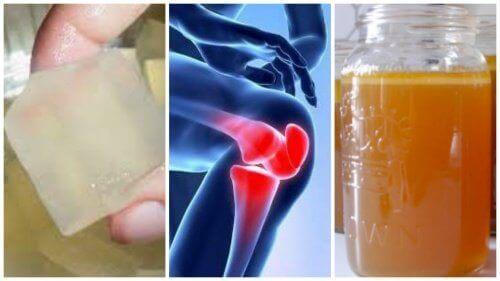 3 желатинові засоби для полегшення болю у суглобах
