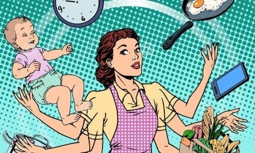 Наявність чоловіка вимагає на 7 годин більше роботи