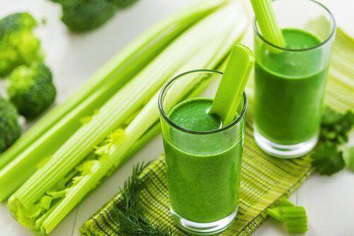 зелений смузі