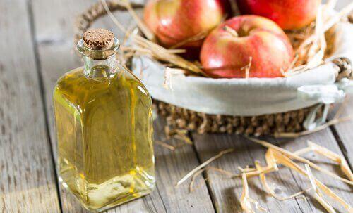 розчин з яблучного оцту