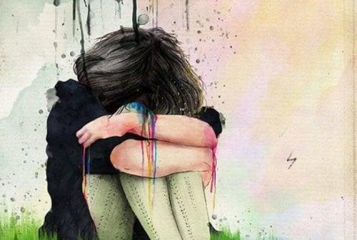 якщо ви пригнічуюєте емоції, ви токсична людина по відношенню до себе