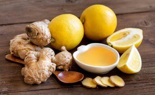 лимон та імбир
