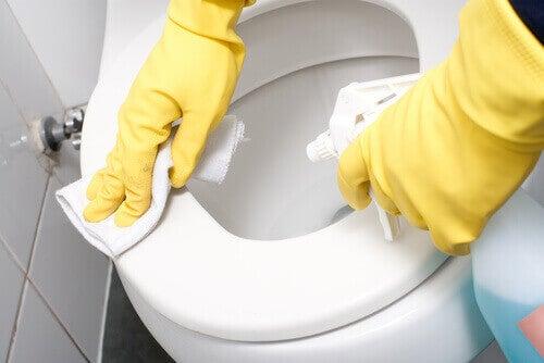 миття унітазу