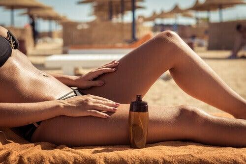 Нетоксичні натуральні олії як сонцезахисний крем