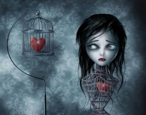 серце в клітці