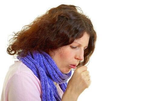 кашель як симптом раку легенів