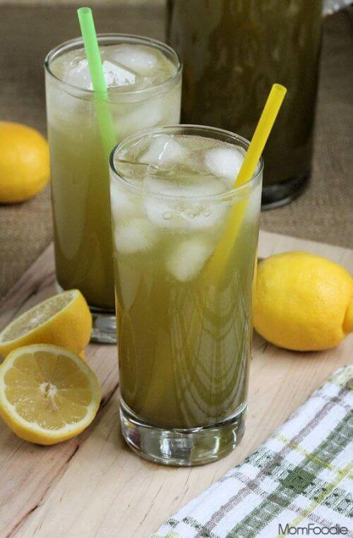 Лимонад з льодом