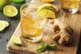 імбир та імбирна вода з лимоном