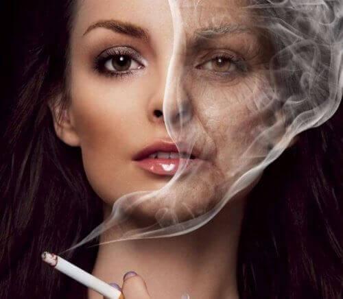 вплив нікотину на шкіру