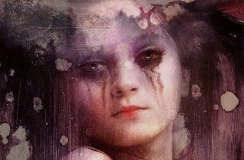 сумна дівчина