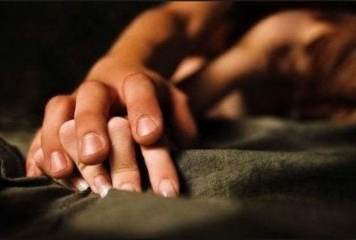 рука у руці, секс