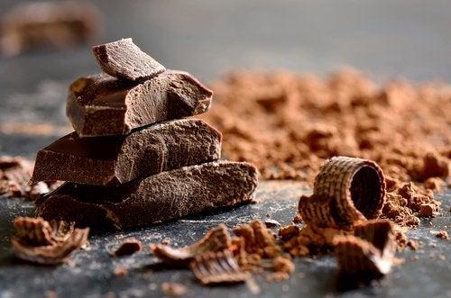 шоколад знімає стрес