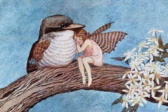 доброта яку символізує фея з пташкою