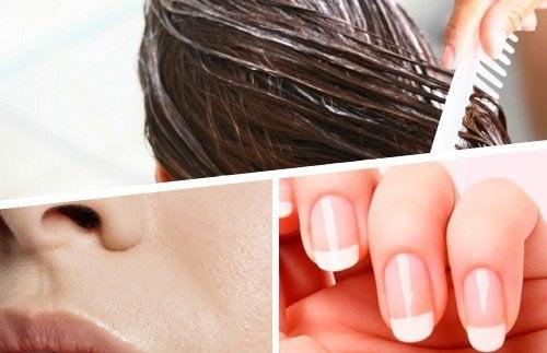 нігті, шкіра та волосся