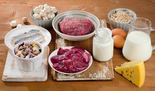 продукти на столі