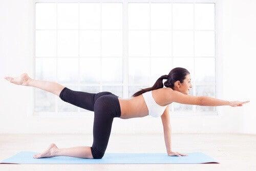 Вправи на розтягування і баланс