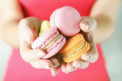 порції солодощів