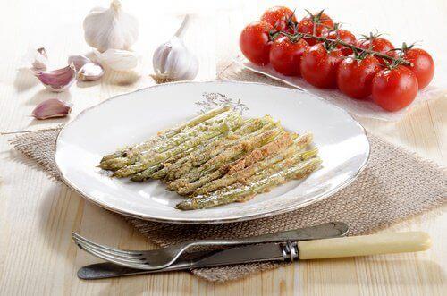 приготовані овочі
