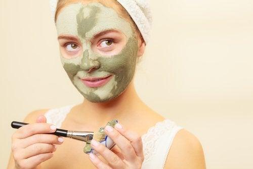 зелена маска