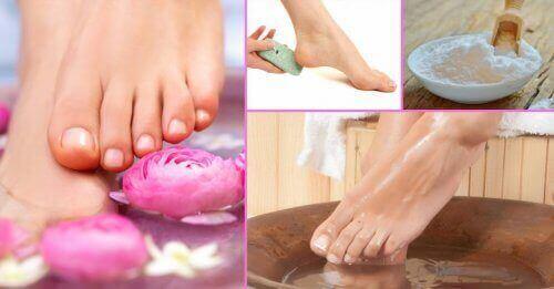 Лікування грибка нігтів за допомогою харчової соди