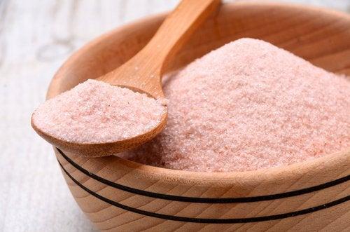 рожева гімалайська сіль