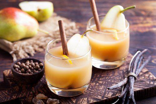 коктейль їз груші прочищає артерії